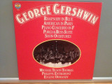 GERSHWIN – RHAPSODY IN BLUE/AMERICAN IN.....- 3LP BOX (1976/CBS/RFG) - Vinil/NM+, Columbia