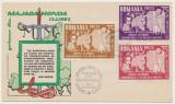 Romania Exil FDC 1962 serie 3 timbre eroi legionari morti la Majadahonda in 1937, Romania de la 1950, Istorie
