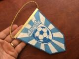 Fanion sport din maretial textil - Clubul sportiv Chimia Ramnicu Valcea !