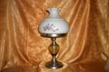 Veioza crom sticla, colectie, cadou, vintage