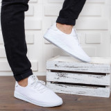 Pantofi sport Delomi albi