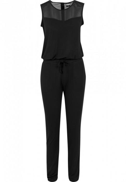 Ladies Tech Mesh Long Jumpsuit