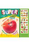 Carte cu sunete: Super fructe, legume... (romana+engleza) - Inesa Tautu, Inesa Tautu
