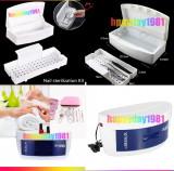 Sterilizator UV  ustensile cu sertar  + cutie sterilizare instrumente