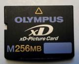 OLYMPUS XD card capacitate 256GB