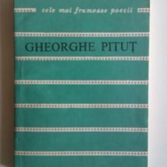 GHEORGHE PITUT - CELE MAI FRUMOASE POEZII,CU DEDICATIE