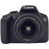 Aparat foto DSLR EOS 1300D,18MP,Wi-Fi + Obiectiv EF-S 18-135mm IS, Canon