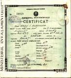 Certificat 7 clase 1946_Scoala nr. 10 Braila