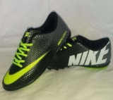 Adidasi  Nike Mercurial-negru cu verde, 37, 41, 43