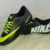 Adidasi  Nike Mercurial-negru cu verde, 37, 40 - 44