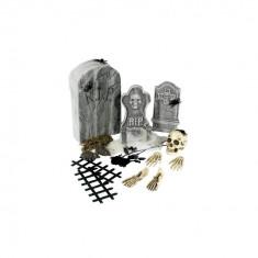 Set decorativ Halloween - Cimitir 24 de piese - Carnaval24