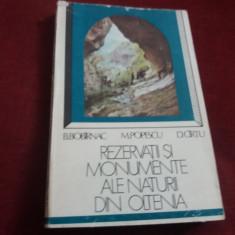 B BOBIRNAC - REZERVATII SI MONUMENTE ALE NATURII DIN OLTENIA