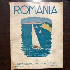 ROMANIA , REVISTA OFICIULUI NATIONAL DE TURISM , ANUL III,NR.7,IULIE 1938