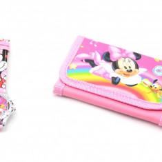 Set ceas pentru copii cu portofel cu Minnie Mouse M3017
