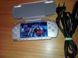 Consola Playstation PSP Slim Modat cu folie ecran si accesorii