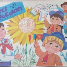 REVISTA ARICI POGONICI NR. 11/1979:Andrei Ciurunga/Al.Mitru/Manuceanu/Livia Rusz - Revista scolara