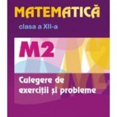 Matematica. M2. Clasa a XII-a. Culegere de exercitii si probleme