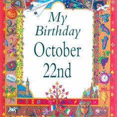 My Birthday October 22nd - Carte astrologie