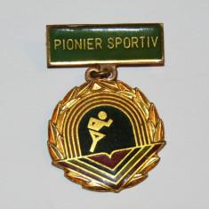 Insigna - Pionier Sportiv