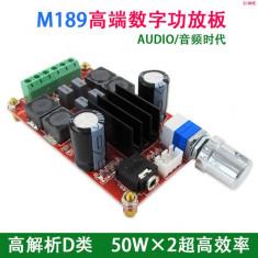 placa statie audio stereo 2*50w xh-m189 digital power tpa3116D2 dc24V