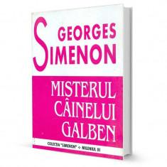 Misterul cainelui galben - Georges Simenon - Carte politiste