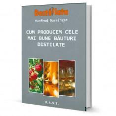 Cum producem cele mai bune bauturi distilate - Prof. Dr. Manfred Gossinger - Carte Alimentatie