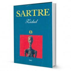 Zidul - Jean-Paul Sartre - Roman