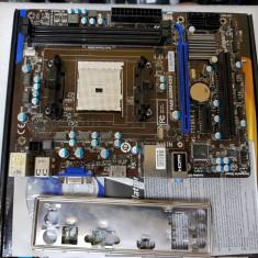 Placa de baza MSI FM2-A55M-E33, socket FM2 DDR3 PCI-E - poze reale, Pentru AMD, MicroATX