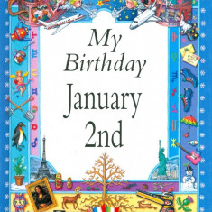 My Birthday January 2nd - Carte astrologie