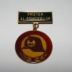 "Insigna pionier - ""Prieten al Pompierilor"""