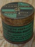 Cumpara ieftin CUTIE DE TABLĂ PASTILE DE FORMALINĂ - MARGINA REȘIȚA SAR - PERIOADA INTERBELICĂ!