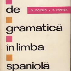 Exercitii de gramatica in limba spaniola