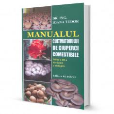 Manualul cultivatorului de ciuperci comestibile - Carte gradinarit