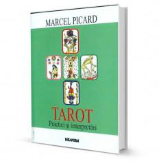 Tarot - Practici si interpretari - Marcel Picard - Carte ezoterism