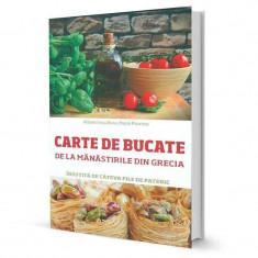 Carte de bucate de la manastirile din Grecia - Paola Psarrou - Carte Alimentatie