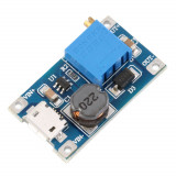 DC-DC converter step up, IN:2-24V, OUT:2.1-28V ( 2A ) MT3608 micro USB (DC638)