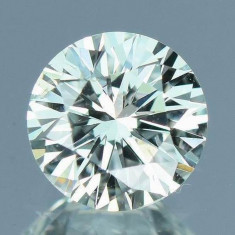 DIAMANT NATURAL ALB-certificat autenticitate-0,114ct.-3,23mm diam.-pret-excelent, Briliant