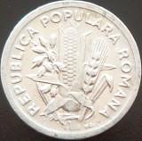 Moneda 2 Lei - ROMANIA, anul 1951  *cod  4005  XF+++, Aluminiu