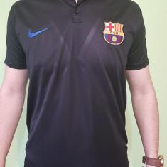 TRICOU SUPORTER BARCELONA, MODEL NOU 2018 - Tricou echipa fotbal, Marime: L, M, S, Culoare: Din imagine, De club, Maneca scurta