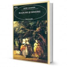 Ratiune si simtire - Jane Austen - Roman