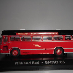Macheta autobuz Midland Red - BMMO C5 - Atlas scara 1:72
