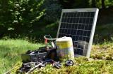 Sistem gard electric 5J putere cu panou solar de 20W Garanție 2 ani + Factură