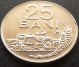 Moneda 25 Bani - ROMANIA, anul 1966 *cod 4054 ---  A.UNC+ / UNC