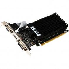 Placa video MSI GeForce GT 710 1GD3H LP, Silent 1GB DDR3 64-bit, Low Profile - Placa video PC Msi, PCI Express, nVidia