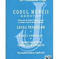 Codul muncii adnotat - Carte Legislatie