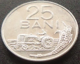 Moneda 25 Bani - ROMANIA, anul 1966 *cod 4051 ---  A.UNC, Aluminiu