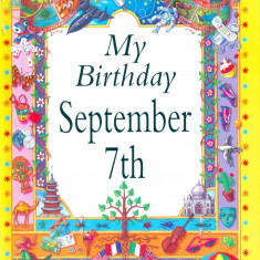 My Birthday September 7th - Carte astrologie