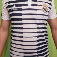 TRICOU SUPORTER REAL MADRID, MODEL NOU 2018 - Tricou echipa fotbal, Culoare: Din imagine, De club, Maneca scurta