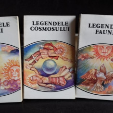 LEGENDELE FLOREI. LEGENDELE COSMOSULUI. LEGENDELE FAUNEI - Carte mitologie