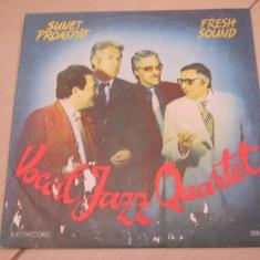 DISC VINIL VOCAL JAZZ SUNET PROASPAT QUARTET FRESH SOUND